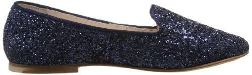 Bloch Shira - Bailarinas de piel para mujer azul - Bleu (Navy)