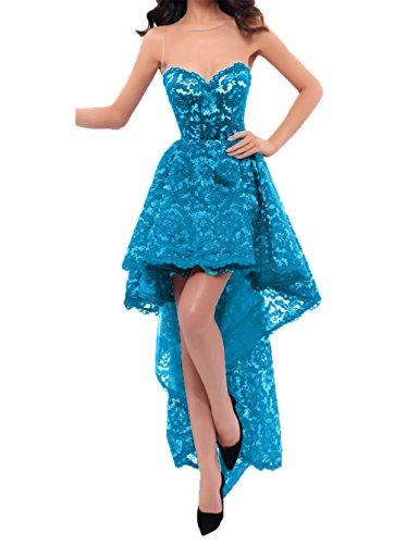 A mit Charmant Damen Schleppe Promkleider lo Abendkleider Sexy Hi Linie Abschlussballkleider Partykleider Blau Rock rg8wgP6qna