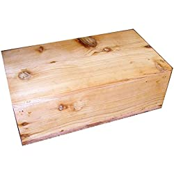 Pet Coffin Casket for Cats or Small Dogs 18 x 10 x 6.25 Inches - U Build It D.I.Y. Kit