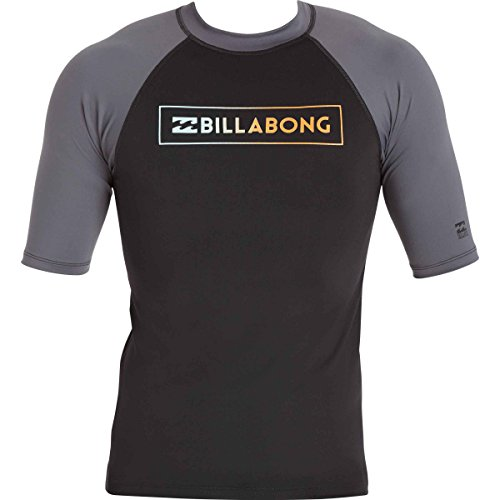빌라봉 Billabong Mens All Day Raglan Regular Fit Short Sleeve Rashguard