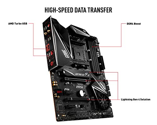 MSI MPG X570 GAMING EDGE WIFI ATX AM4 Motherboard