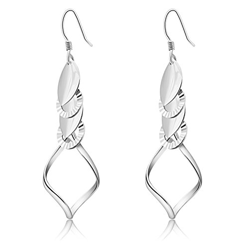 Classic Fashion Linear Sterling Earrings product image