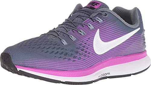 f3a12a604bd Nike Women s Air Zoom Pegasus 34 Flyease Running Shoe (8.5 W US