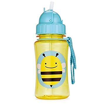 Skip Hop Straw Cup, Toddler Transition Sippy Cup, Chameleon 252335-CNSZP