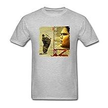 FUSHUOMT88M Men's IZ Israel Kamakawiwo'ole N Dis Life T-shirt Size M Grey