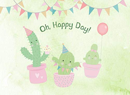 Oh, Happy Day!: Guest Book | Cactus Themed Parties and Celebrations | For 250 guests and their messages
