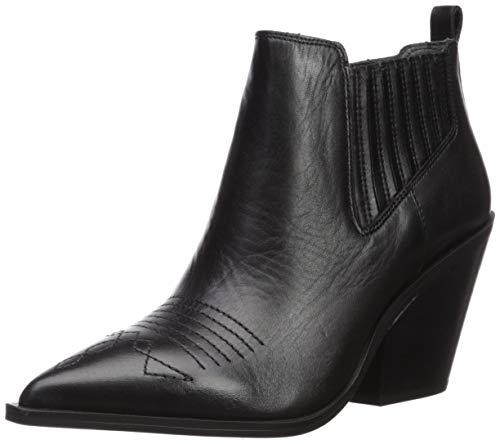 Franco Sarto Women's CAVALLARIE Fashion Boot, Black, 8 M US