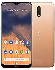 "Nokia 2.3 Android One Smartphone (Official Australian Version) Unlocked Mobile Phone with 2-Day Battery, AI Dual-Cameras, Vibrant 6.2"" HD+ Screen, Face Unlock, 3 Years of Security, 32GB, Sand"