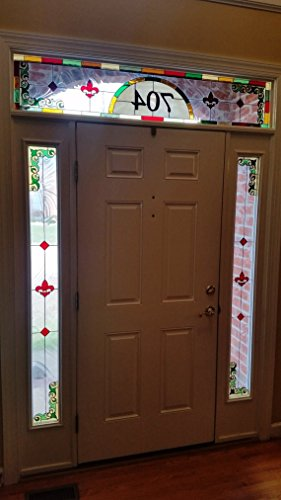 Stained glass set of windows -