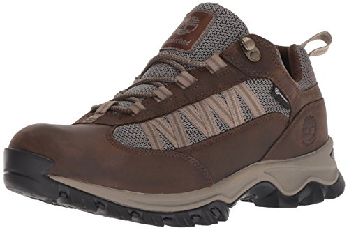 Timberland Men's Mt. Maddsen Lite Low WP, Dark Brown, 12 Medium US