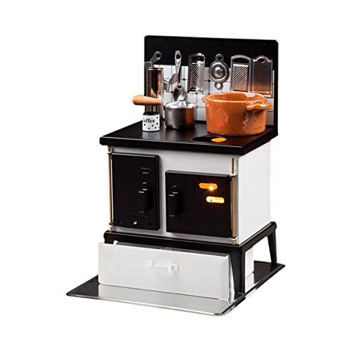 HUSS Multi-Purpose Steel Oven Stove Miniature Kitchen German Incense Smoker Oil Diffuser Cup Warmer ()