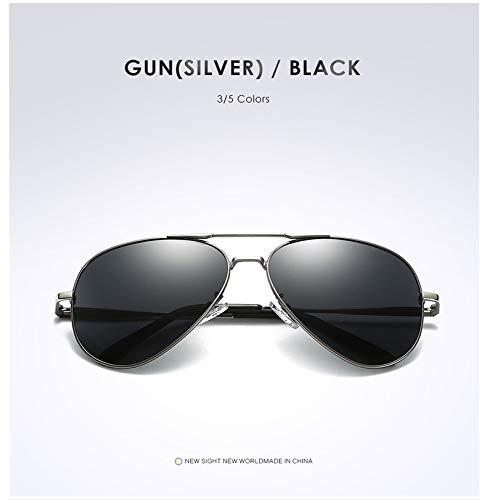 Rétro Soleil De Mode Ruiyue Polarized Personnalité Miroirs Lunettes Soleil UV400 De Lunettes 3 pour Femmes Protection Hommes 4XnRUn7