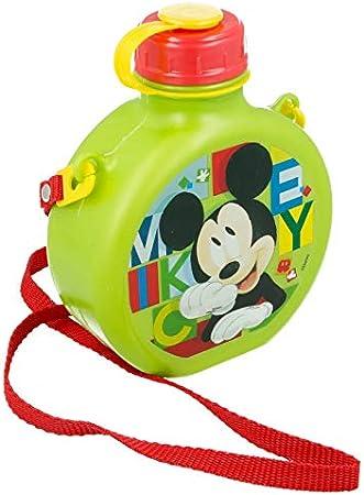 ALMACENESADAN 2084, Cantimplora Disney Mickey Mouse Watercolors; Capacidad 670 ml; Producto deplástico; No BPA