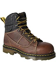 Dr. Martens Mens Camber EW Safety Toe 8 Tie Boot