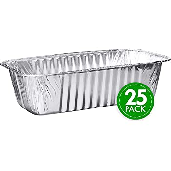 Amazon Com 20 Pack 5lb Loaf Size Propack Disposable