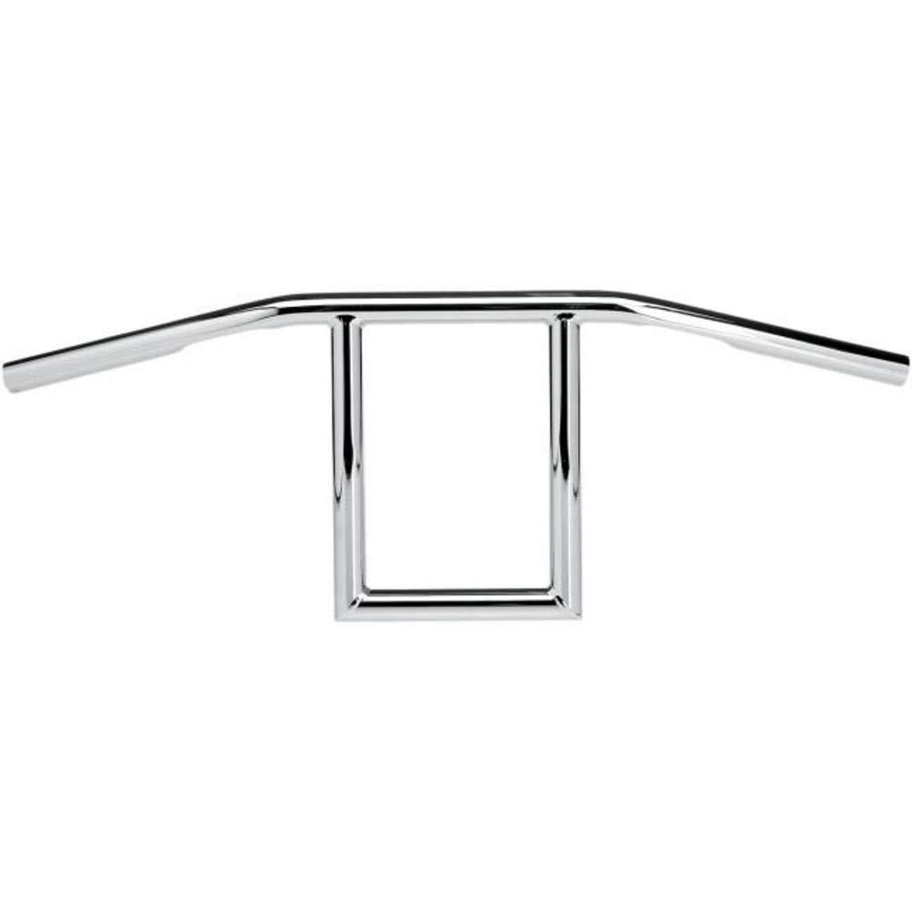 Biltwell Window 1 Handlebar Dimpled //Chrome