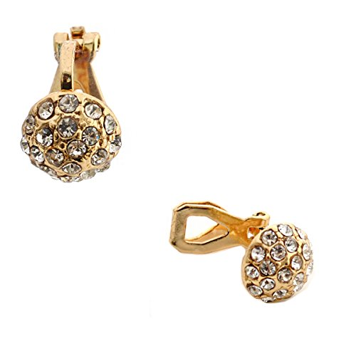 Wedding Earrings Crystal Button Clip product image