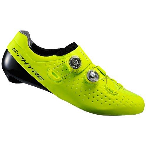 Shimano shrc9oc440syz0–Scarpe da ciclismo, 44, Giallo, Unisex