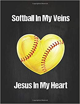 ... Composition Notebook Journal - 8.5 x 11 100 Wide Ruled Paper - Softball Team Gifts For Teen Girls - Softball Coach Gifts Paperback – August 7, 2018