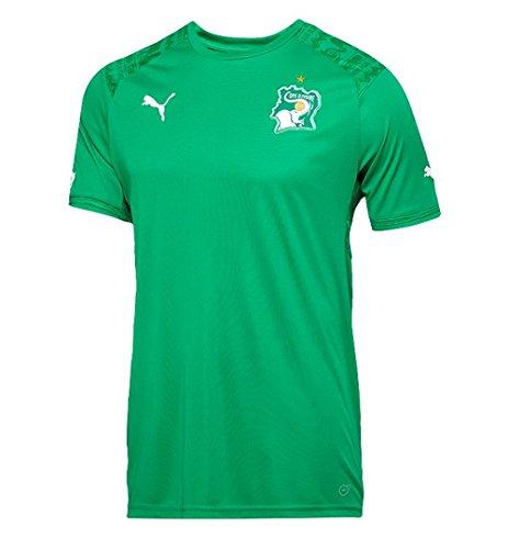 ケープガソリン表向きPuma Ivory Coast away Jersey Green World Cup 2014/サッカーユニフォーム コートジボワール代表 アウェイ用 ワールドカップ2014