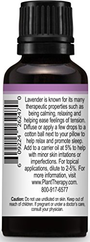 Plant Therapy Lavender Essential Oil. 100% Pure, Undiluted, Therapeutic Grade. 30 ml (1 oz). by Plant Therapy (Image #4)