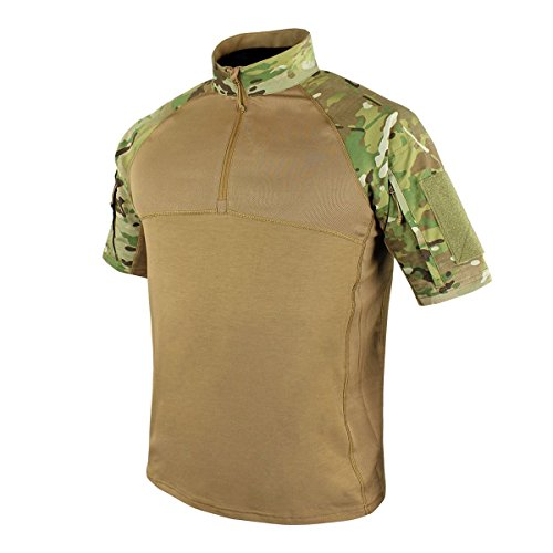 - Condor Outdoor Tactical Short Sleeve Combat Shirt (Large, Multicam)