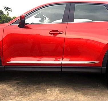 ABS Chrom R/ückspiegel Zierstreifen Verkleidung 2 F/ür CX-5 CX5 2017 2018 2019