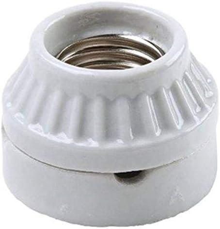 Legrand – Pass & Seymour 9880CC10 Medium Base Lamp Holder Porcelain Surface Amount Type, Two Piece Construction