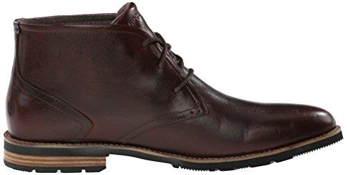 Rockport Men's Ledge Hill 2 Chukka Boot, Dark Brown, 8.5 W US