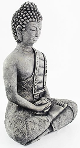 - Buddha with Robe Home and Garden Statues Concrete Buddhas Figures