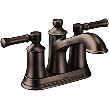 Charmant Moen Dartmoor Two Handle Low Arc Bathroom Faucet, Oil Rubbed Bronze  (6802ORB)