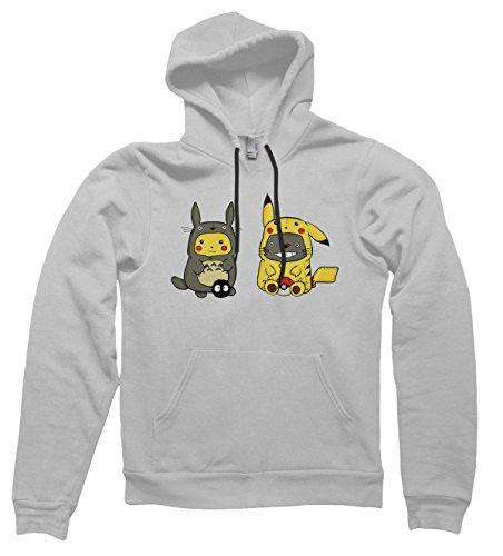 Pikachu-Totoro-sudadera-con-capucha