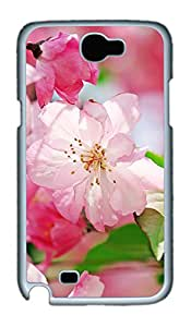 Samsung Galaxy Note II N7100 Cases & Covers - Begonia Flowers Custom PC Soft Case Cover Protector for Samsung Galaxy Note II N7100 - White