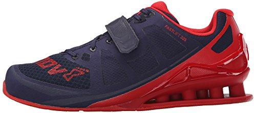 Inov-8 Men's Fastlift™ 325-M Cross-Trainer Shoe, Navy/Red, 12 M US Photo #7