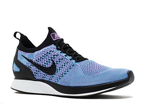 Nike Air Zoom Mariah Flyknit Racer - Zapatillas de Running de Malla Para Hombre Bright Violet/Chlorine Blue/White/Black 45 EU