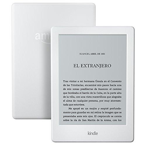 """Nuevo E-reader Kindle, pantalla táctil antirreflejos de 6"""" (15,2 cm)"""