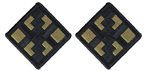 Engineer Brigade Patch - 411 Engineer Brigade OCP Patch-2 Pack