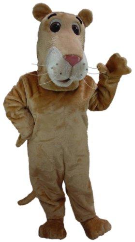Lioness Mascot Costumes - Cartoon Lioness Mascot