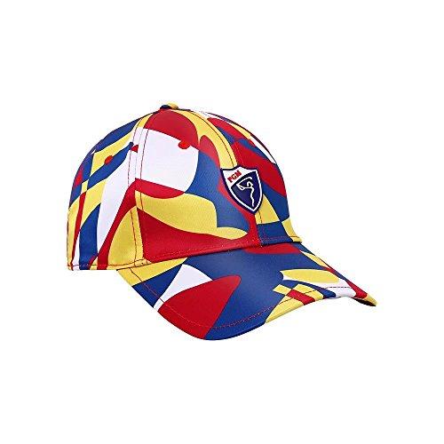 Kayiyasu カイヤス ゴルフ帽子 サンバイザー UVカット 日焼け対策 レディース帽子 ゴルフウェア 021-xsty-mz012(フリーサイズ キャップ )