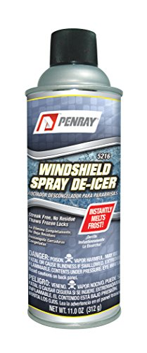 Penray 5216 Windshield Spray De-Icer - 11.0-Ounce Aerosol Can (case of 12) (Best Windscreen De Icer)