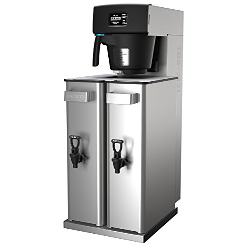 Fetco TBS-2121XTS Twin Iced Tea Brewer with 3-1/2 Gallon Capacity by Fetco