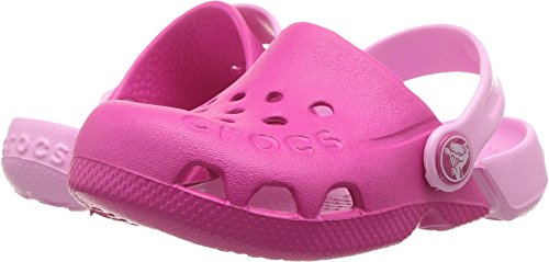 Crocs Unisex Electro Clog, Candy Pink/Carnation 10 M US Little Kid (Crocs Kids Clogs)