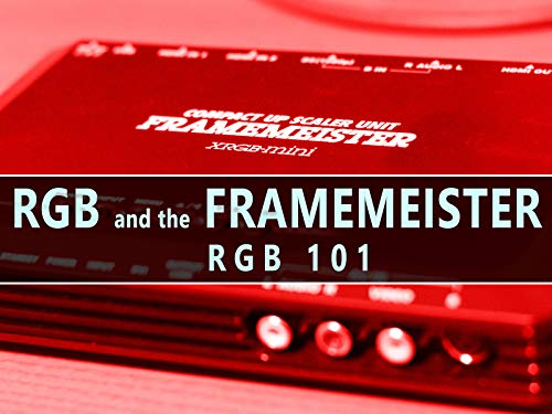 RGB101 :: RGB and the Framemeister - Get the Best Picture from Retro Consoles