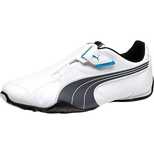 Puma Redon Move Sneaker,White/Dark Shadow/Black,7 US