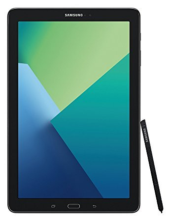 Samsung Galaxy Tab A with S-Pen 10.1' Inch (32GB Black Wi-Fi) SM-P580 - International Version (Bigger Internal Storage than US Version)