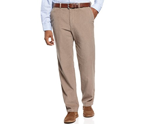 Haggar Pants, Corduroy 14 Wale Classic Fit Flat Front Khaki (14 Wale Corduroy Pants)