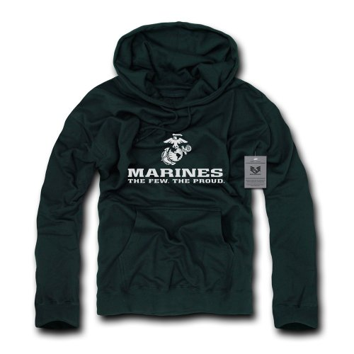 Rapiddominance Marines Basic Military Pullover, Black, X-Large