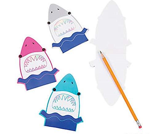 Fun Express 24 pc - Shark Notepads