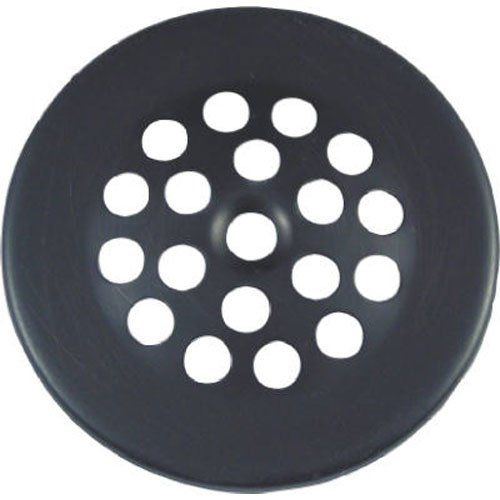 Danco 89471 2-7/8-Inch Tub & Shower Drain Strainer, Includes Screw, Oil Rubbed Bronze (Strainer Accessory Shower)