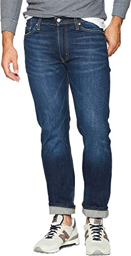 Levi's Men's 513 Slim Straight Jean, Ducky Boy-Stretch, 32 32